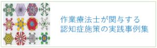 北海道における作業療法士が関与する認知症施策の実践事例集について